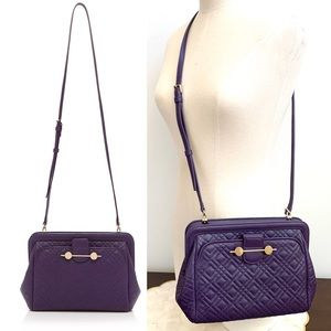 Jason Wu Purple Daphne Lambskin Quilted Bag